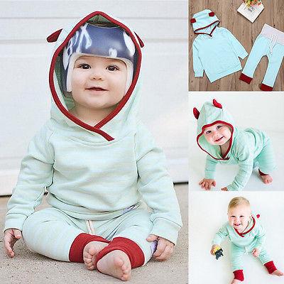cute baby girl blue hoodie baby boy cotton swetshirt toddler patchwork long pants kids autumn. Black Bedroom Furniture Sets. Home Design Ideas