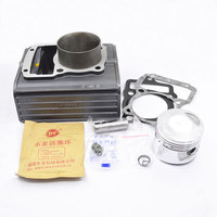 High Quaity Motorcycle Cylinder Kit For LIFAN CG150 CG175 CG200 Boiling Type Water cooled Engine Spare Parts