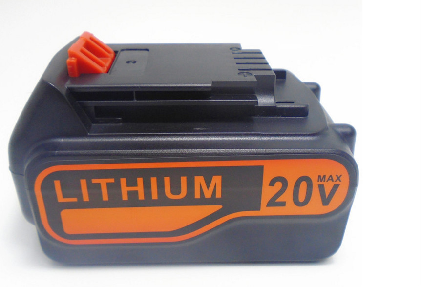 20V Li-ion 4000mah  Power Tool Battery for Black&Decker A1518L, LB018-OPE, A1118L HP188 HP186 Free Shipping