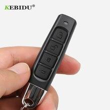 KEBIDU 433MHZ העותק בא שלט רחוק 4 כפתורים רכב מפתח Fob אלחוטי משדר 12V עבור מוסך רכב בית שער הזזה דלת
