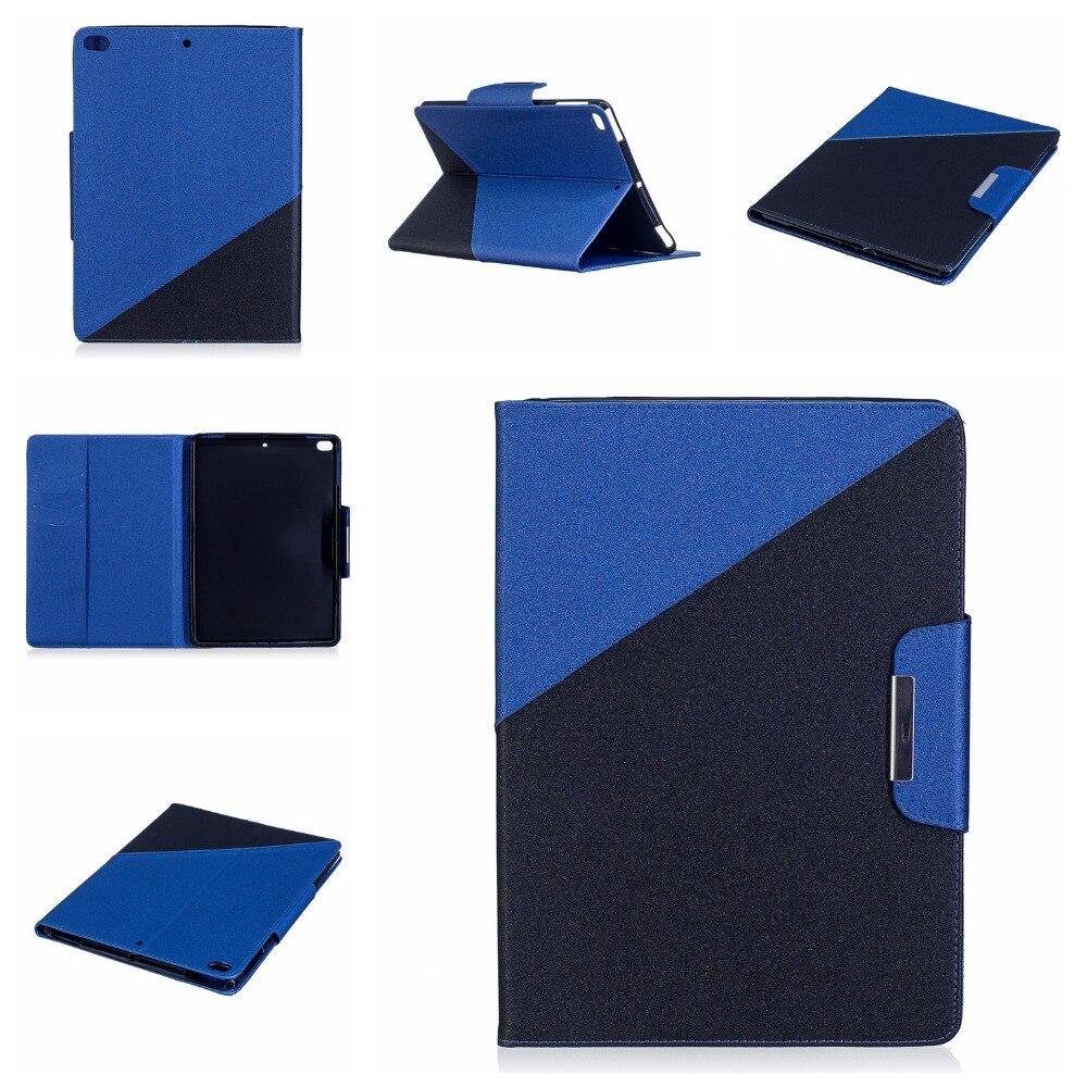 Ultra Slim песок зерна печати Стенд кожаный PU защитный кожи В виде ракушки чехол для Apple iPad air2/Air 9.7 Планшеты Coque принципиально ...