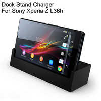 Original Sony Desktop Charging Dock Stand Charger DK26 For SONY Xperia L36h Xperia Z c660x L36i c6603