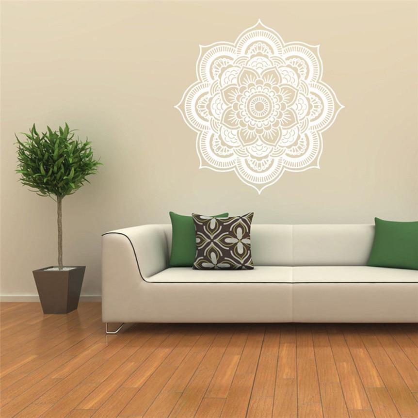 online kaufen großhandel kunst wandtattoo mandala aus china kunst ... - Wandtattoo Wei Schlafzimmer