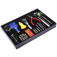 New Arrivals 20 in 1 Watch Tool Kit Professional Wristwatch Repair Tools Case Opener Tweezers Screw Drivers Remover Relojes Tool