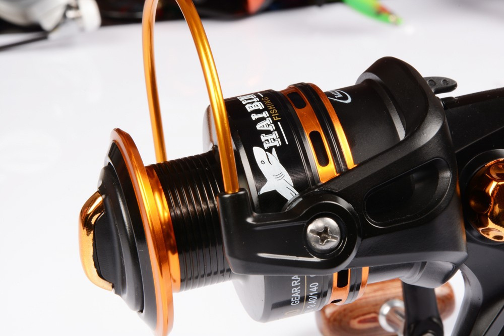 Vissen Spinning Reel 12 + 1 Bearing Balls Spinning reel Super Strong - Visvangst - Foto 4