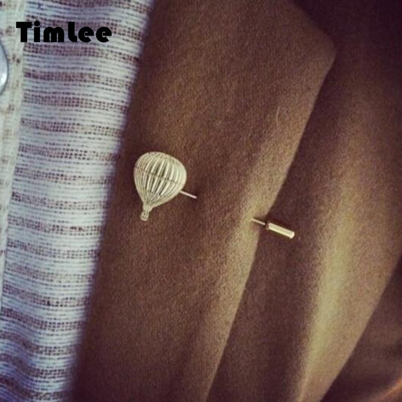 Timlee X075 Free shipping Cute Grace Fashion Cappadocia Fire Balloon Brooch Pins,Fashion Jewelry Wholesale