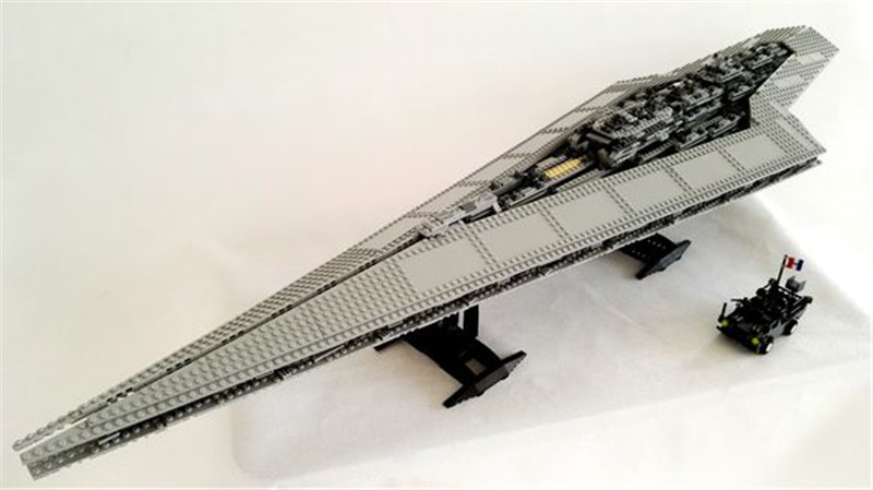 3208pcs Genuine Building Blocks Toy Super Star Destroyer Model Block Brick Compatible Lepins Birthday Christmas Gifts 05028 star wars execytor super star destroyer model building kit mini block brick toy gift compatible 75055 tos lepin