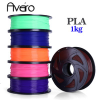 Aveiro PLA filament 3d printer filament USA Natural raw material pla 1.75 3d plastic filament 1kg impressora 3 d materials