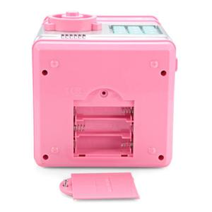 Image 3 - ATM automatic roll money piggy bank Electronic Pig Bank ATM Password Money Box Cash Coins Saving Box Bank Safe  for Children #T