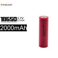 Прямые продажи с фабрики kingwei 100 шт. 2000 мАч 18650 Батарея 3.7 В Перезаряжаемые литий ионный Батареи