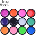Lauryn Magic for beauty 12 Pure Colo rDecor UV Gel Nail Polish Excellent Nail Gel Manicure Profession