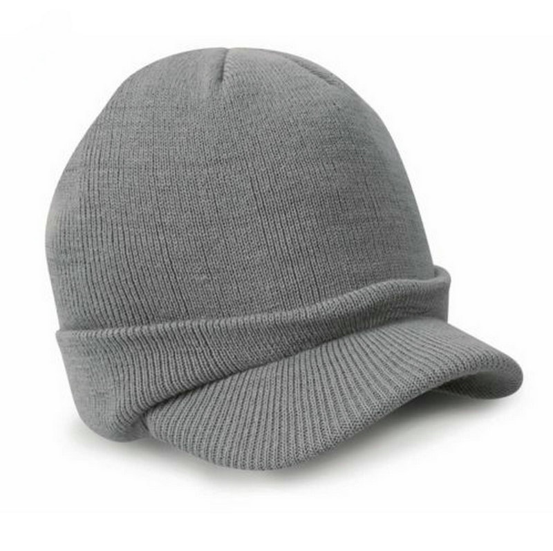 Gaya busana Tentara Topi Laki-laki Topi Musim Dingin Dengan Visor - Aksesori pakaian - Foto 5