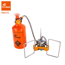 Fire Maple Gasoline Stove Camping Hiking Portable Liquid Fuel Oil Stoves With Pump FMS-F5 Fire Cooker Outdoor Petrol Burners(China)
