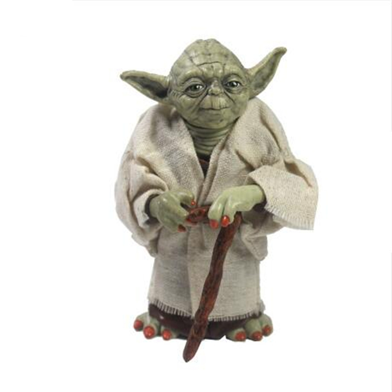 12cm Star Wars Jedi Knight Master Yoda PVC Action Figure Collectible Model Toy Doll for Children Christmas Gift star wars jedi knight master yoda pvc action figures toys collection brinquedos great gifts for kids 5 12cm