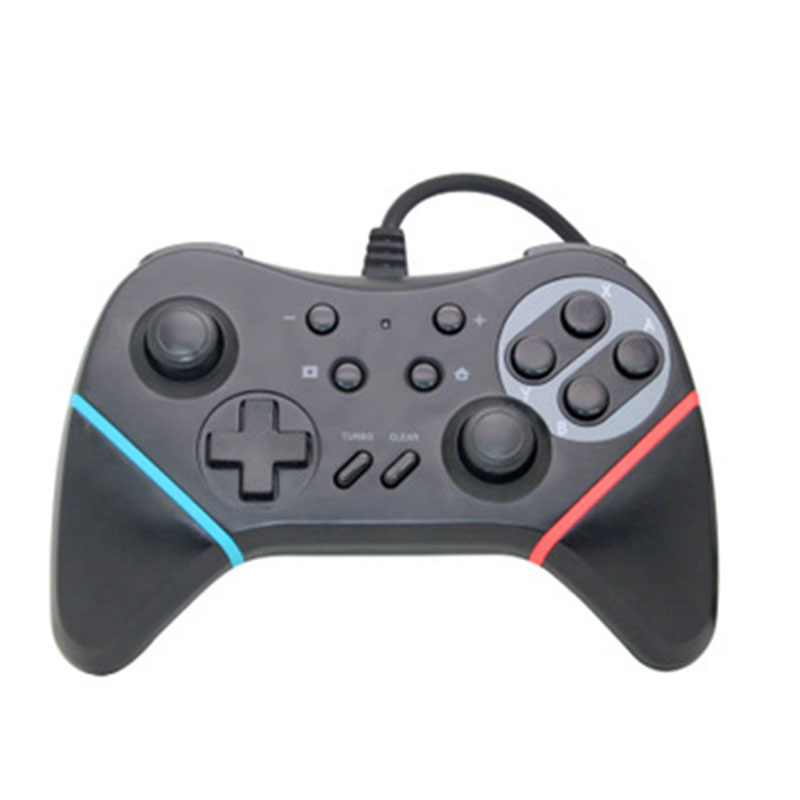 New Turbo wired Controller For Nintend Switch Joystick Professional ...