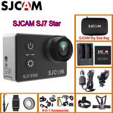 SJCAM SJ7 Star WiFi 4K 30P 2' Touch Screen Remote Action Helmet Sport Camera Waterproof Ambarella A12 Chip Camcorder SJCAM SJ7