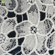 Shuanshuo Milk silk embroidery lace Clothing fabric Water soluble Lace three-dimensional hollow a half meter