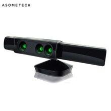 زوم لجهاز إكس بوكس 360 حساس كينكت بزاوية واسعة ومستشعر للحد من المدى لمايكروسوفت إكس بوكس 360 لعبة فيديو حساس حركة