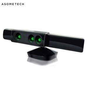 Image 1 - Zoom for XBOX 360 Kinect Sensor Wide Angle Lens Sensor Range Reduction Adapter For Microsoft XBox 360 Video Game Movement Sensor