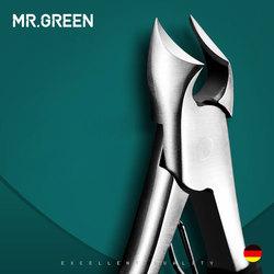 MR. GREEN Toe جديد المهنية الفولاذ المقاوم للصدأ مانيكير المتقلب الفن كماشة إهاب مقص مسمار المقص أداة قص الأظافر