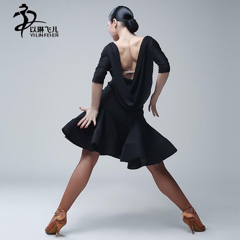 ∞Latin Dance Dress Rumba Latin Salsa Samba Chacha Ballroom Dance ...