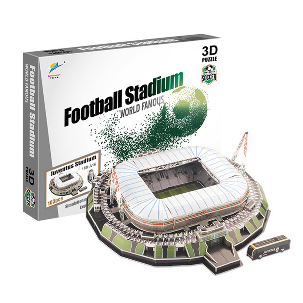 New Soccer 3D Stadium Football Field Model Camp Nou Paper DIY Toys Best Gift Soccer For Boys Kids Dropshipping