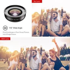 Image 3 - APEXEL HD 5 в 1 объектив для камеры телефона 4K широкоугольный макрообъектив для портрета объектив Super Fisheye CPL фильтр для iPhone Samsung всех сотовых телефонов