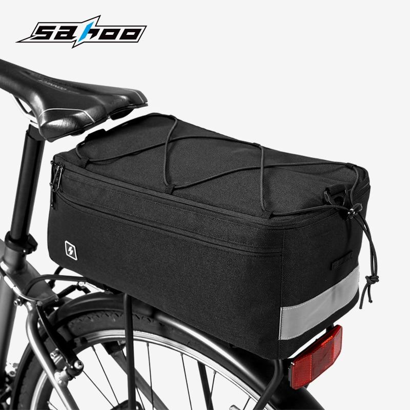 Roswheel Sahoo 8L Bike Bag MTB Bicycle Rear Bag Pannier Rucksack Cycle Cycling Bag Rack Bags Bycicle Accessories 2018 New