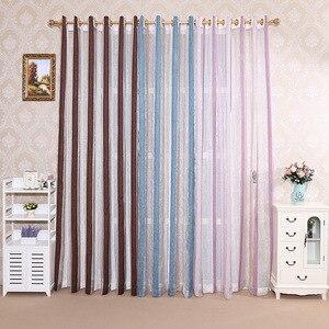 Image 1 - Cortinas romanas de calidad, cortinas, pantallas verticales, sala de estar, rayas plateadas, pantallas plateadas, cortinas de jacquard teñidas con hilo