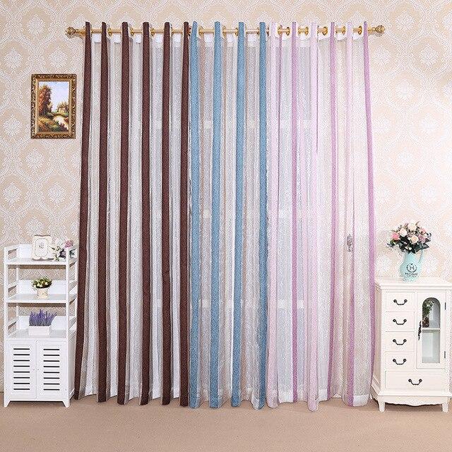 Cortinas romanas de calidad, cortinas, pantallas verticales, sala de estar, rayas plateadas, pantallas plateadas, cortinas de jacquard teñidas con hilo