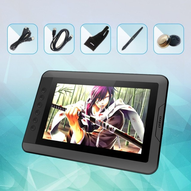 Portablet Graphic Tablet Display Very Smart With 6 Hot Keys For Artists And Students Best Digital