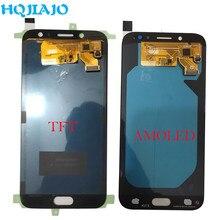 AMOLED LCD Display Für Samsung Galaxy J7 Pro 2017 J730 J730F J730FM LCD Display Touchscreen Digitizer Montage LCD J730