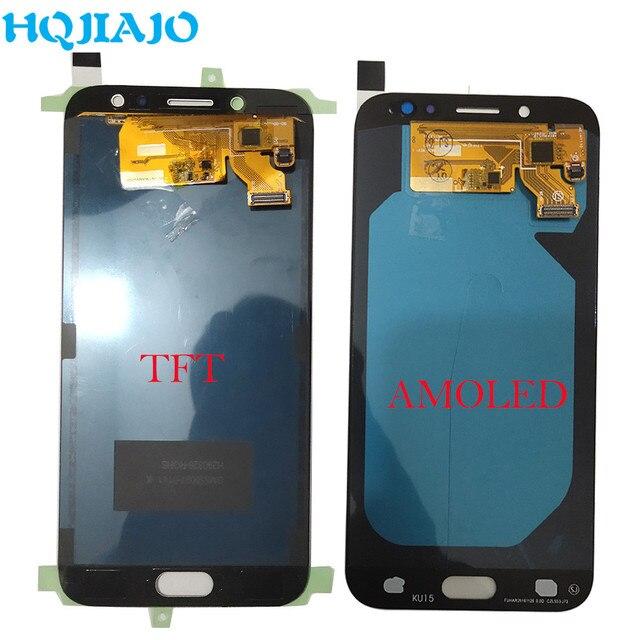 AMOLED LCD Display For Samsung Galaxy J7 Pro 2017 J730 J730F J730FM LCD Display Touch Screen Digitizer Assembly LCD J730