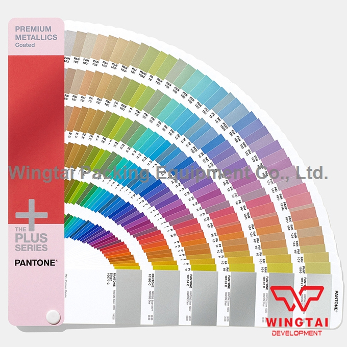300 kinds of metal colors PANTONE Color Premium Metallics Coated Color Chart GG1505 2 book pantone colour chart gp1606n solid chips coated