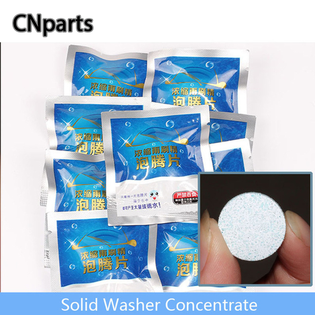 CNparts Universal Car Concentrated Solid Glass Water For Peugeot 407 Citroen C4 C5 Honda Civic Accord CRV Lada Vesta Accessories