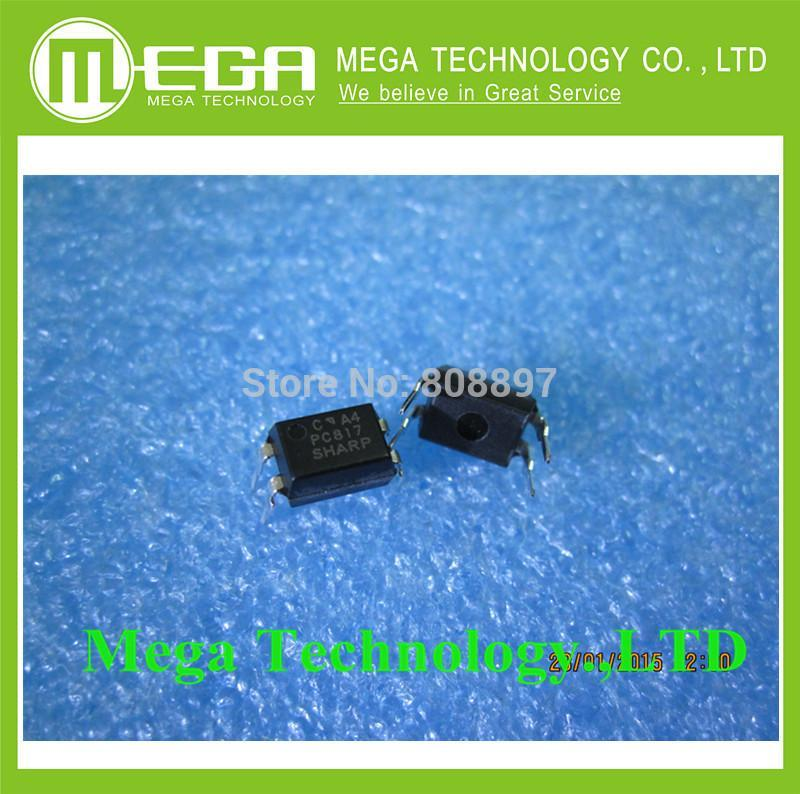 FREE SHIPPING 50PCS/LOT 100% NEW   PC817C PHOTOCOUPLER (PC817C)