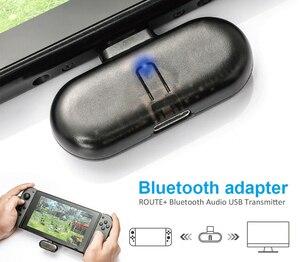 Myriann transmetteur Audio Bluetooth Nintendo, casque sans fil, Support adaptateur de récepteur, Aptx pour écouteurs PC pour interrupteur Nintendo