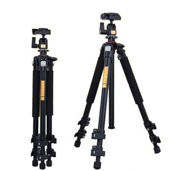 Q301 Professional Camera Tripod  Portable Compact Travel Horizontal System Tripod for Canon Nikon Sony SLR DSLR Cameras