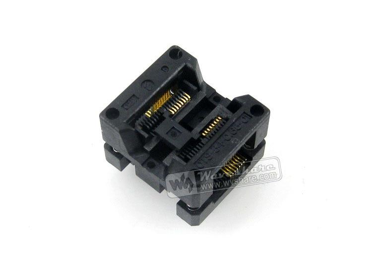 OTS-16(34)-0.65-01 Enplas IC Burn-in Test Socket Adapter 0.65mm Pitch SSOP16 TSSOP16 Package importing ic block adapter tsop56 ots 56 0 5 01 test writers adapter