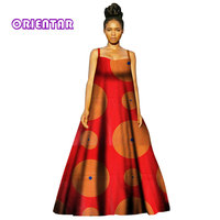 2018 African Print dresses for women Dashiki Dress Robe Casual African Print Ladies Indian Sexy Dresses Women Clothing WY2870