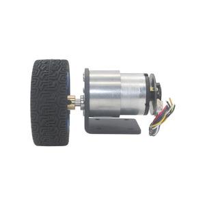 Image 3 - 37 مللي متر قطر محركات ذات تروس 12 فولت 24 فولت بطارية تيار مباشر المحرك مع التشفير و عجلة عدة لتقوم بها بنفسك JGB37 520 Gear Motor
