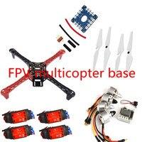 F450 Quadcopter Rack Kit Frame w/ MINI KK2.15 920KV MOTOR 30A SIMONK ESC ~F4MK1