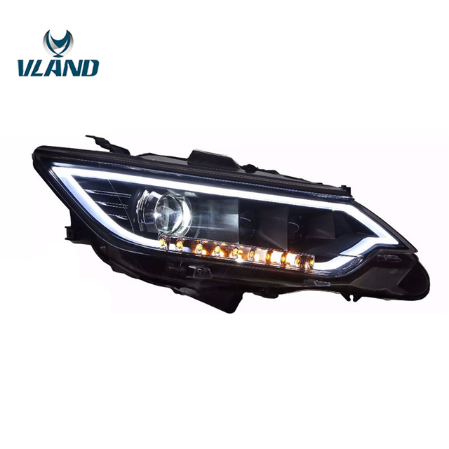 Vland Factory For Car Head Lamp Camry Led Headlight 2017 2016 Light With Day Xenon Projectors Plug And Play