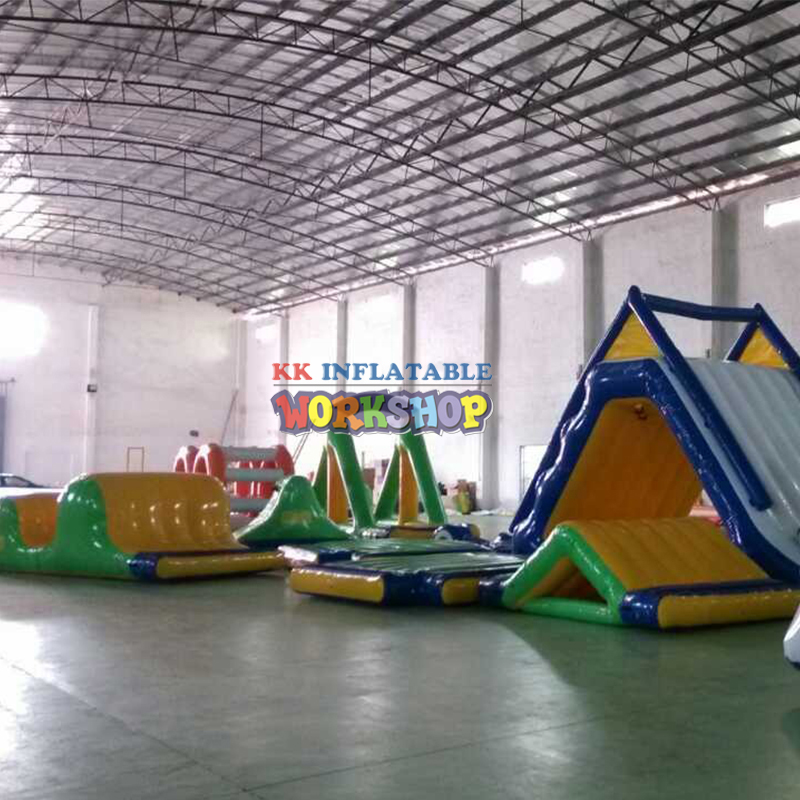Commercial Adult Water Theme Sport Mobile Park Rides Games Amusement Inflatable Water Park For Sale