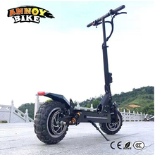 11inch 60V Off Road Two Motor Electric Scooter 65Km/h Strong powerful new Foldable Electric Bicycle bike motorcycle scooters
