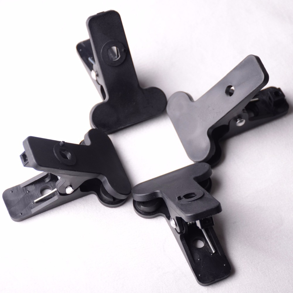 Forte Clip 4 Pcs 8x9.5 cm Photographie Studio titulaire du stand de Fond Clips Toile Pinces Pinces Matériel Photo Pince tig