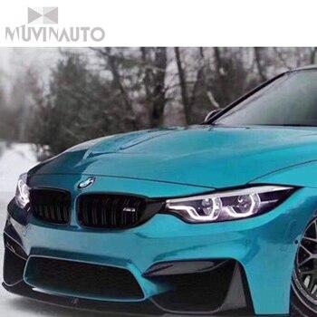Frontschürze Nebelscheinwerfer Ecke Splitter Trim Abdeckungen Per BMW 3 4 Serie F80 M3 F82 F83 M4 2014-2018 Di Carbonio Fibra Di Nebel L