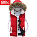 2016 hooded men cotton in the fall and winter of  Leisure vest