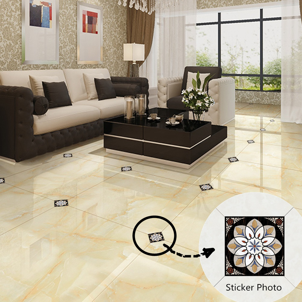 Tile Decor Store: Aliexpress.com : Buy 3D Floral Waterproof Floor Stickers