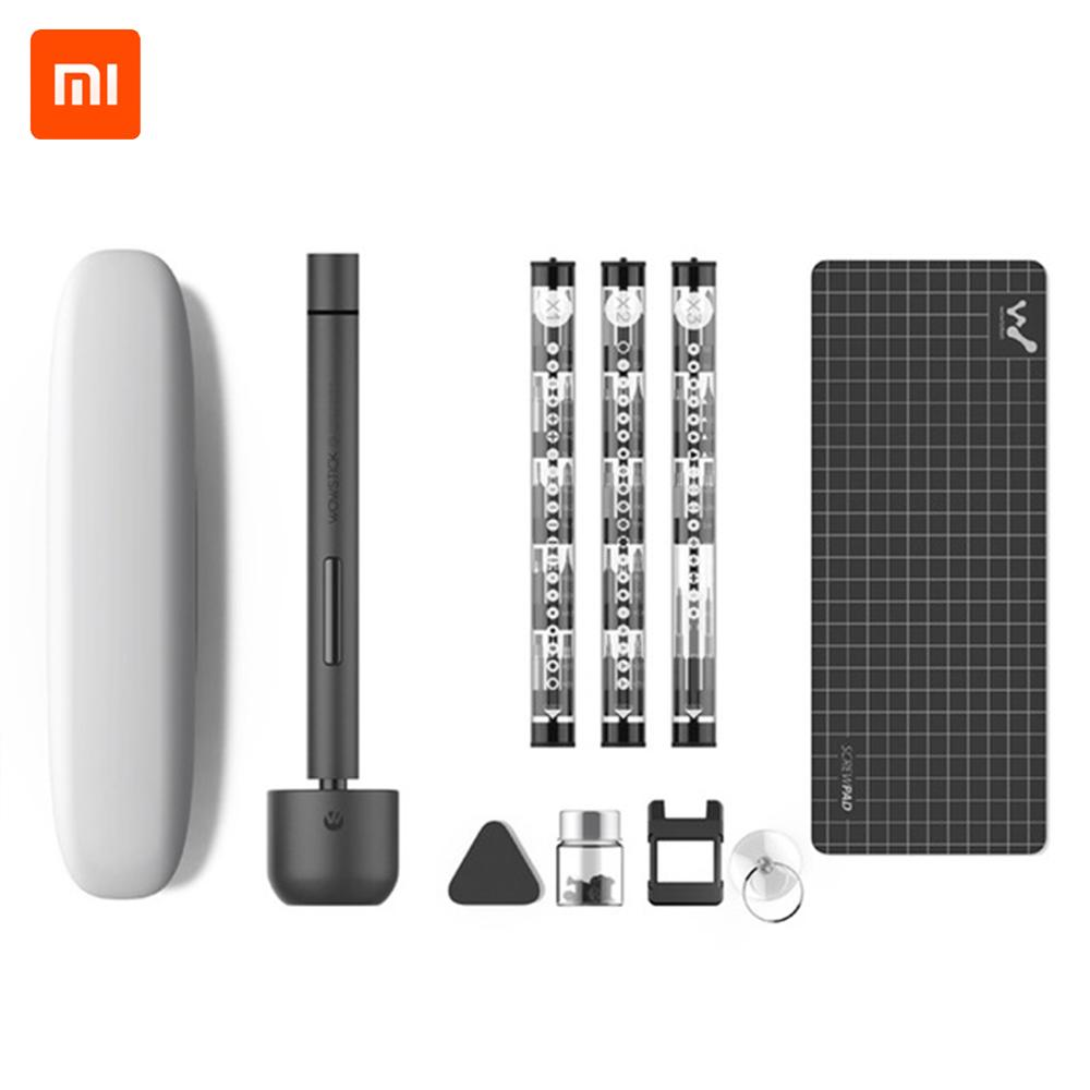 XIAOMI Wowstick Portable Electric Screwdriver Cordless Rechargeable Screw Driver Kit LED Power Screwdriver